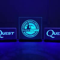 ADA and Interior Signs - 12 - LED office sign