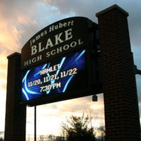 Exterior Signs - 40 - monument-sign-school-led