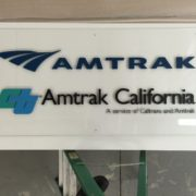 Lobby Signs - 11 - acrylic sign and lettering with standoffs - orange county