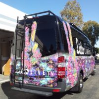 Vehicle Wrap - 26 - mercedes sprinter van newport beach