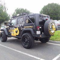 Vehicle Wrap - 29 - Partial Jeep wrangler Wrap tustin