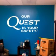Wall Graphics - 05 - custom vinyl wall corporate lettering