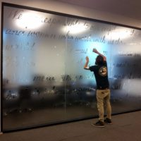 Window Graphics - 15 - Conference Room Frosted Credo