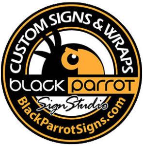 Black Parrot Signs